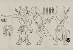 Let's see the full process for designing a character and creating its model sheet. We'll go through step by step, from the analysis of the commission and research of the topic through to the design and the full execution of the idea. | Difficulty: Intermediate; Length: Medium; Tags: Concept Art, Character Design, Drawing, Animal Anatomy, Drawing Theory