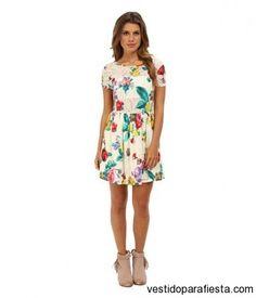Vestidos cortos estampados de moda verano 2014 http://vestidoparafiesta.com/vestidos-cortos-estampados-de-moda-verano-2014/ #vestidos #dress #moda #fashion #moda2014 #party