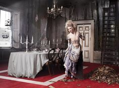 Cinderella: Once Upon a Tile by InterfaceFLOR, by photographer Michael Woolley