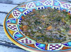 Lentil, Italian Turkey Sausage and Rapini Soup