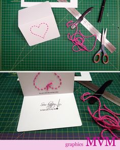 Sew Happy: homemade Valentine's Day card