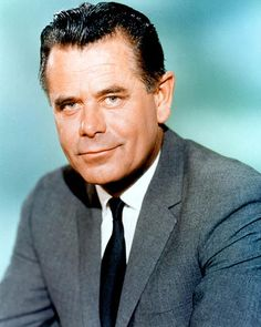 """Glenn Ford (1916 - 2006) He appeared in many movies, including """"Gilda"""", """"The Big Heat"""", """"The Blackboard Jungle"""", """"3:10 to Yuma"""" and the movie version of """"The Courtship of Eddie's Father"""""""