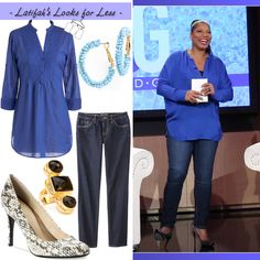 Queen Latifah's Look for Less: May 1