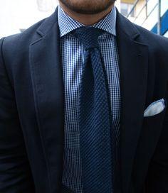 Blue Knit Tie...