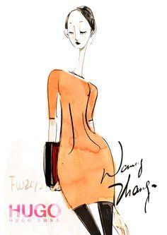 Berlin Fashion Week Impression-Hugo Boss 2012 FW.