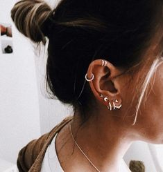 60+ Eye-Catching and Cutest Ear Piercings Accessories You Should Own - Page 49 of 66 - Diaror Diary
