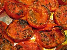 All that and she cooks, too: easy roasted roma tomatoes