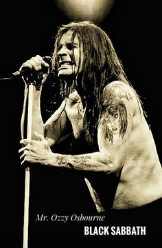 Mr. Ozzy Osbourne, Black Sabbath