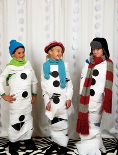Family Fun Snowman Game