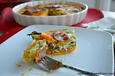 Butternut (or sweet potato) Squash Quiche. Make enough for leftovers. Tastes better the next day when eaten cold on the go.