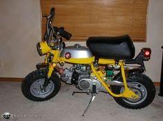 Photo of a 1969 Honda Z-50 K-1 Mini-trail (Yellow).... first bike