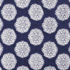 Ananda Indigo from @John Robshaw Textiles