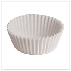 3 1/2 x 1 5/8 x 15/16 White 1 oz Fluted Bake Cups/Case of 10000 Tags:  Baking Cups;  baking cups;White Baking Cups;Baking Cups; https://www.ktsupply.com/products/32789329089/3-12-x-1-58-x-1516-White-1-oz-Fluted-Bake-CupsCase-of-10000.html