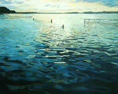 """Saatchi Online Artist Grażyna Smalej; Painting, """"Bath XXVII"""" #art"""