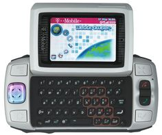 I had this T-Mobile Sidekick II in the early before replacing it with my red Blackberry Curve. Glad I am no longer a T-Mobile customer. 2000s Party, Mobiles, Blackberry Curve, T Mobile Phones, Flip Phones, Cool Cases, Tablet Phone, Early 2000s, Call Backs