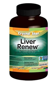 Crystal Star Liver Renew Herbal Supplements, 90 Count *** Check this awesome product by going to the link at the image.