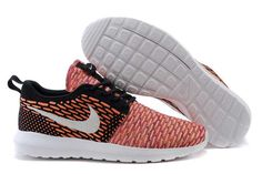 c77c337e6f1a9 Now Buy Nike Roshe Run Flyknit Mens Fireberry Shoes For Sale Save Up From  Outlet Store at Footlocker.