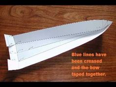 #1-How I build my model boat hulls out of one piece of flat aluminum YT.mpg - YouTube