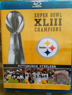 Blu-Ray Super Bowl XLIII Pittsburgh Steelers 6-time Super Bowl Champs Many Extra