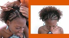 Alguns penteados afros...