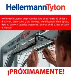 Conoce la nueva marca HellermannTyton de venta en Liger. Visítanos: www.liger.com.mx