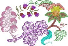 Jacobean Embroidery Patterns | jacobean-7s2.jpg