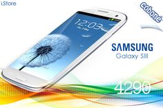Get the Android 4.0 operating system and 1.4GHz processor of the 16GB Samsung Galaxy S3 mobile phone from iStore for EGP 4290 – 1 year warranty!