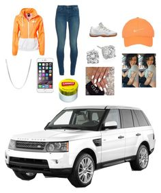 """""""With my brudda"""" by lucascolywiffeeyyy ❤ liked on Polyvore featuring NIKE, J Brand, Crislu and Carmex"""