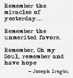Letter To My Soul by @J_Iregbu http://josephiregbu.com/letter