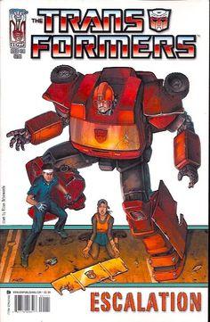 Transformers Escalation 1B (2006 IDW)    Transformers, Transformers Escalation www.detoyboys.nl