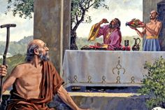 Jesus Stories, Bible Stories, O Rico E Lazaro, Bishop Barron, Parables Of Jesus, Jesus Teachings, Bible News, Bible Pictures, Bible Studies