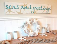 Meet Me Bye The Sea Nautical Christmas Seas by MeetMeByeTheSea