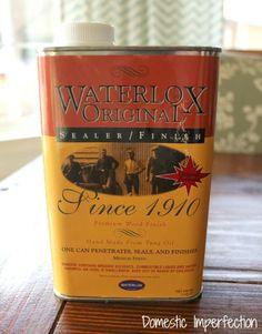 Waterlox for countertops