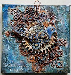 A Steampunk Canvas. Michelle Logan