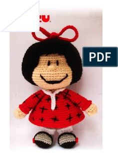 Xmas, Christmas Ornaments, Learn To Crochet, Origami, Free Pattern, Crochet Patterns, Arts And Crafts, Crochet Hats, Snoopy