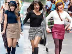 Lea Michelle. Her style is divine.