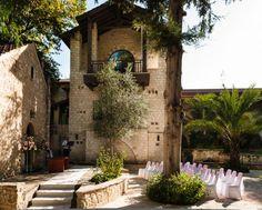 Cyprus Converted 17th Century Monastery Wedding