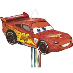 CARS THE MOVIE PULL PIÑATA 21″ L x 10″ W
