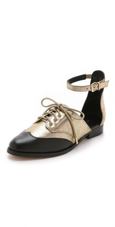 Rebecca Minkoff Maddie Ankle Strap Oxfords | SHOPBOP