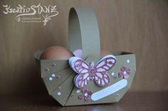 Osterkörbchen Schmetterling Korb Thinlits http://kreativstanz.bastelblogs.de/ Kreativstanz – Stampin' Up! #easter #basket