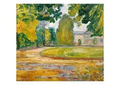 Giclee Print: Park in Koesen, 1906 by Edvard Munch : 20x28in