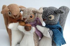 I am nuts about these squirrels!
