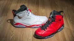 hot sale online e88e5 dfc4c Jordan Brand s lineup of infrared colored kicks is about to hit its apex  with the release of the Air Jordan 6 Retro in classic