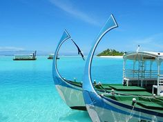 two boats in the Indian Ocean
