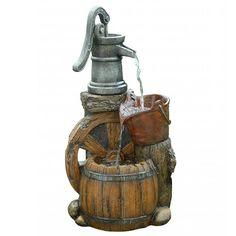 Old Fashion Pump Barrel Fountain