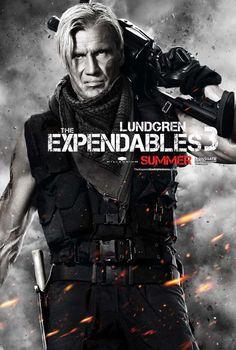 Dolph Lundgren Expendables 3