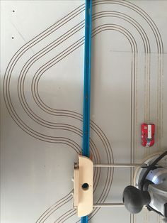 lane small x routed ho slot car track wooden ho slot car routing a cabinet door into a 3 lane ho slot car track 2x4