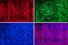 During Milan Design Week Italian-based artistic team Carnovsky unveiled their RGB Fabulous Landscapes. Beautiful Landscape Pictures, Beautiful Landscapes, Cool Places To Visit, Psychedelic, The Good Place, Cool Pictures, Eye Candy, Around The Worlds, Amazing Things