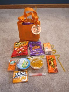 Orange you glad it's summer bags for the kids last day of school.