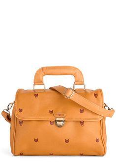 Whisker Me Away Bag, #ModCloth